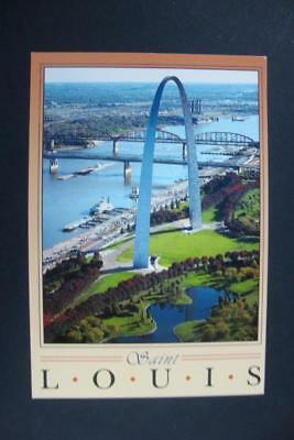 732) St Louis Mo ~ Jefferson Nat Memorial ~ The Gateway Arch ~ Mississippi River