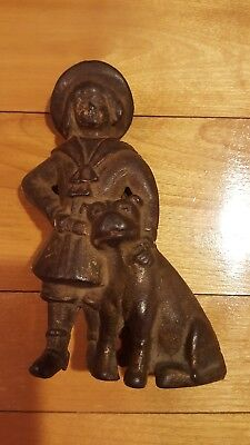 1910 Cast Iron Buster Brown Bank