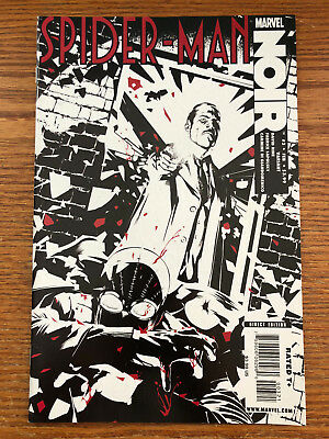 Spider-man Noir #3 Cover B Variant Marvel Comics 2009 NM