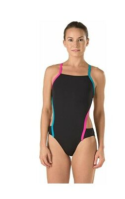 94d54fb718 SPEEDO PLUS SIZE Women s Endurance Side Shirred Tank One Piece ...