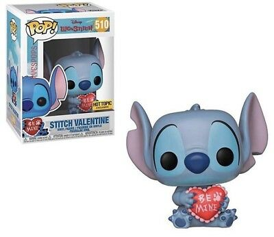 Funko Pop Lilo And Stitch Stitch Valentine Hot Topic Exclusive PREORDER