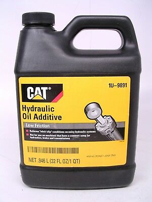 Cat Hydraulic Oil Additive 1U-9891 stops sticky or noisy hydraulics