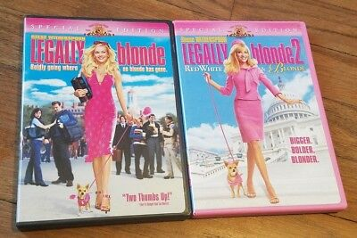 (2) DVD SET: Legally Blonde & Legally Blonde 2: Red White & Blonde (Sp. Edition)