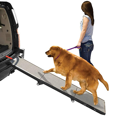 Pet Gear PG9300DR Tri-fold Ramp, Black/Grey, X-Large