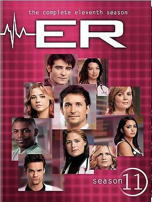 ER The Complete 11th Eleventh Season 11 Eleven BRAND NEW 6-DISC DVD SET