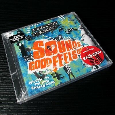 5 Seconds of Summer - Sounds Good Feels Good USA Deluxe CD+2 [Blue Cover] #0506*