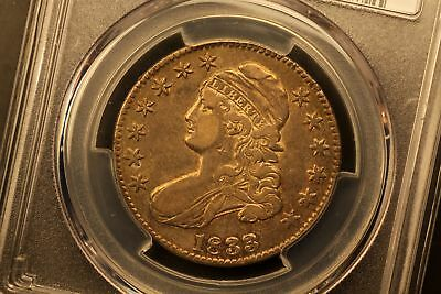 1833 Capped Bust 50c Silver XF45 PCGS O-109 r.3 #33458441