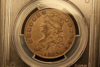 1829 Capped Bust 50c Silver XF45 Small Letters PCGS O-111a r.2 #30194031
