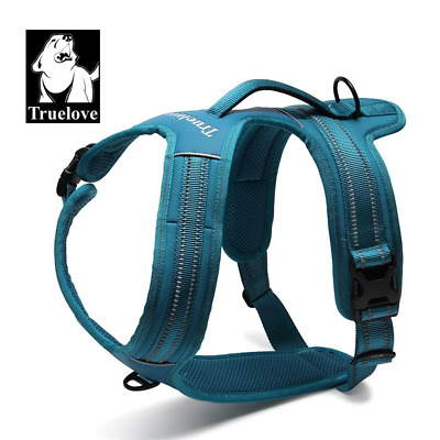 TRUE LOVE Truelove Dog Harness With Handle Soft Padded Pet Vest,Reflective...