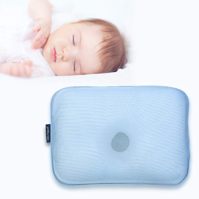 Small Gio Baby Pillow with Free Cover for Flat Head Syndrome  S-Size 0-8...
