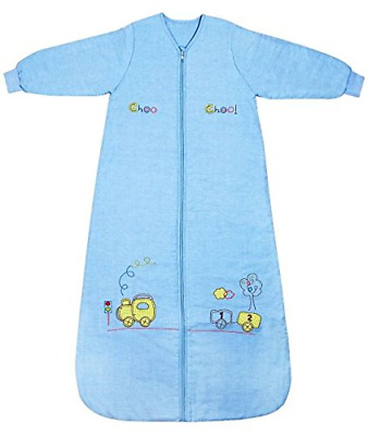 Slumbersac Winter Toddler Sleeping Bag Long Sleeves 3.5 Tog - Choo Train,...