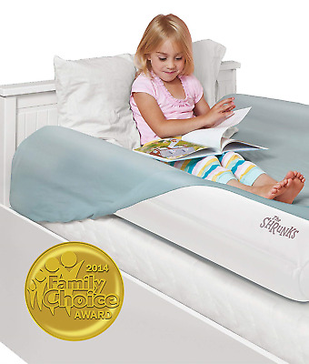 The Shrunks Sleep Security Inflatable Bed Rails (2 Pack) - Safe and Portable...