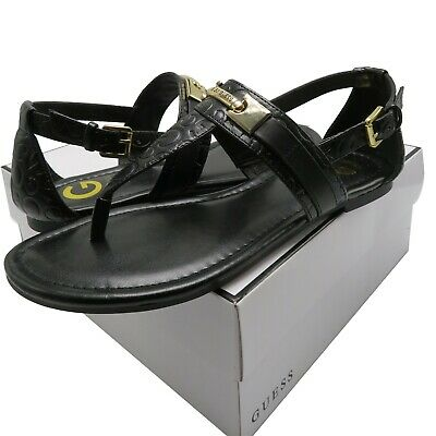 40ad04279c87c GUESS LINKIN T-STRAP sandals size  9.5 -  35.00