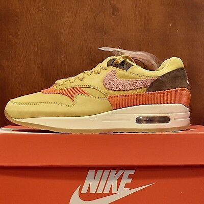 newest cbfd8 4f0fd Nike Air Max 1 Crepe Sole Wheat Gold Rust Pink size 8 in hand