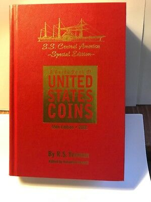 2002 Guide Book of United States Coins - S S Central America Special Edition New