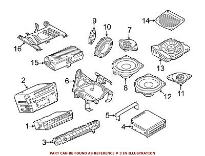 For BMW Genuine Radio Module Interface 61316814184