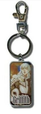 Berserk Griffith Metal Keychain Key Chain Anime Manga Officially Licensed New