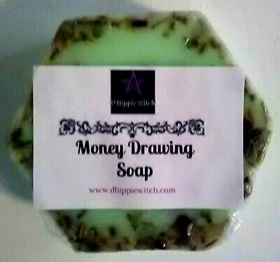 MONEY DRAWING SOAP  Mystical Magical Soaps Wicca Ritual Soap Supplies