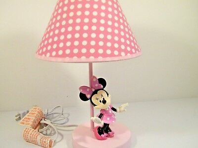 Disney Baby Minnie Mouse Lamp & Shade