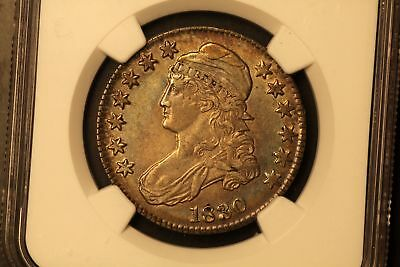 1830 Capped Bust 50c Silver Small 0 AU53 NGC O-103 r.1 #4711797-013