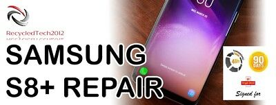 Samsung S8+ Cracked LCD Screen Glass Repair & Replacement Service  LCD Must Work