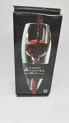 MAGIC DECANTER~ Essential Red Wine Aerator~Stand~Pouch~