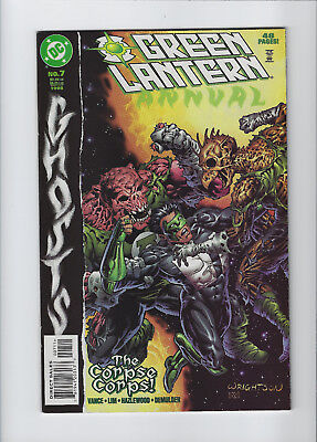 Green Lantern Annual #7 | Ghosts | Berni Wrightson Cover | Very Fine/Near Mint