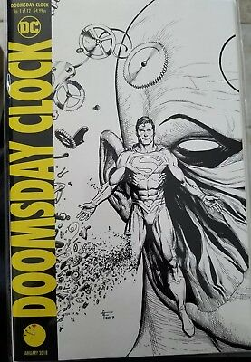 Doomsday Clock #1 Gary Frank Midnight Release Variant Dc All 4 Covers
