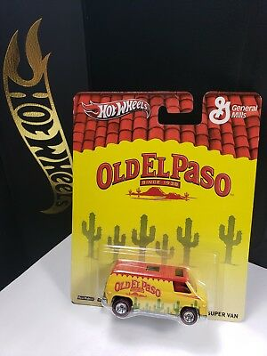 2012 Hot Wheels  General Mills Old El Paso Super Van - B1