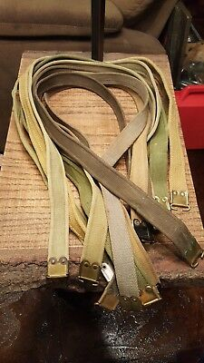 Original WW2 British Canadian Savage Long Branch Enfield Rifle Carbine Sling