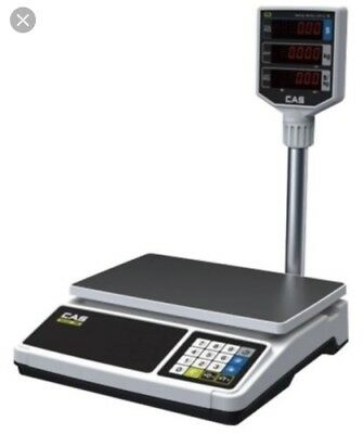 Cas Er Plus Er Series Trade Approved Price Computing Retail Scale 15Kg