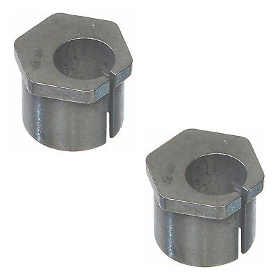Pair Set of 2 Front Alignment Camber Bushings 2 Degree Moog for F-150 F-250 4WD