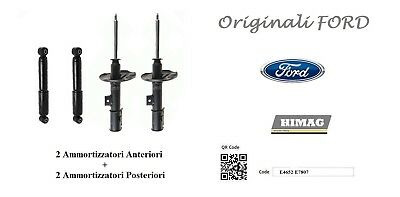 Monroe Front Right Left Reflex Shock Absorber x2 FORD KUGA 2.5 2008-2012