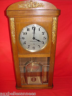 Ancien Carillon Vedette 8 Tiges 8 Marteaux / Horloge Pendule Old Clock