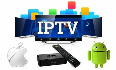 *PREMIUM TV PACKAGE IP TV** 12 MONTH SUB  * Firestick *Android * Smart STB *MAG
