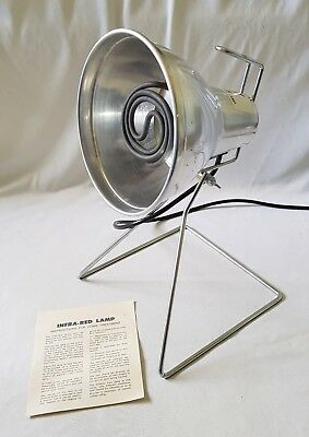 Vintage Amcal Chemists Infra-Red Heat Lamp - In Original Box - Perfect