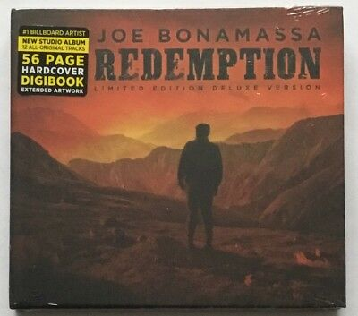 Joe Bonamassa - Redemption (Deluxe Edition CD Album New Sealed)