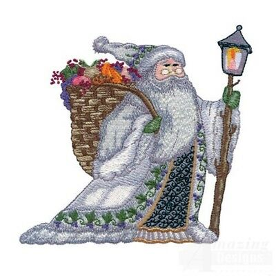20 Santa Claus I Designs for Machine Embroidery - On a CD