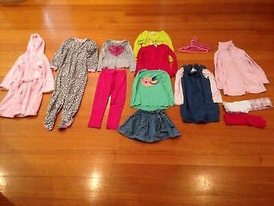 13 Girls Assorted Pieces Including Brands Cotton On Kids, Milkshake - Size 6