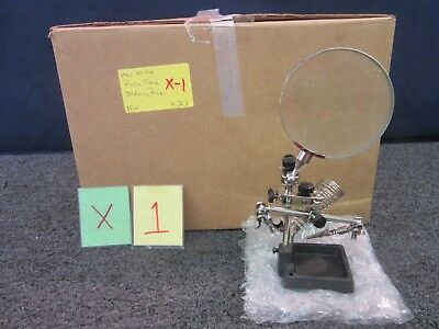 Radio Shack Helping Hands Magnifier Soldering Station Stand Jeweler 6400079