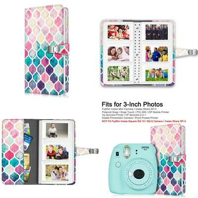 Fintie Wallet Photo Album for Fujifilm Instax - 108 Pockets [Snap Fastener] Phot