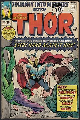 Journey Into Mystery With Thor #110 FN+