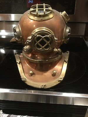Antique Mark V Diving Helmet Replica 11""