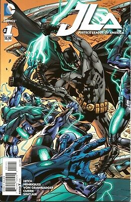 Justice League Of America (Jla) # 1 / Batman Cover / Dc Comics / Aug 2015 / N/m