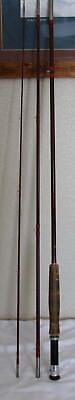 Vintage Herters RB6Y7F Fiberglass 8 1/2 Ft Fly Rod, In Sock and Case, T&W