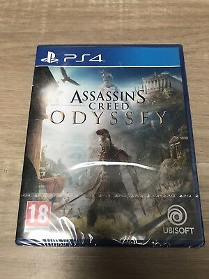 Assassin's Creed Odyssey PS4 - Jeux vidéo action & aventure Playstation 4