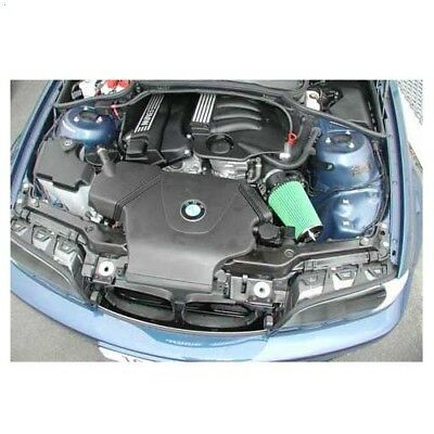 Kit d'admission directe d'air GREEN pour BMW E46 316i/Ti, 318i/Ti/Ci