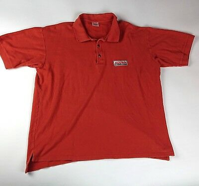Krispy Kreme Doughnuts Mens size Large Authentic Team Gear Embroidered branded