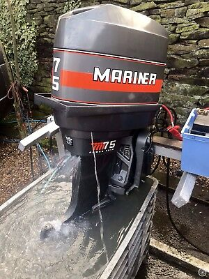 MARINER 75 HP 2 Stroke 4 Cyl  Outboard Engine(No Reserve)