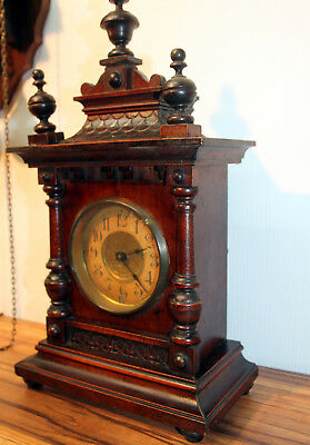 Antique Mantel Clock Bracket Clock  *TO BE REVISE *
